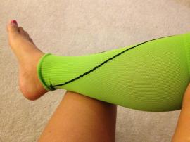 My shins and calves were saved by CEP compression sleeves.