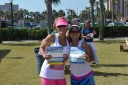 After running the Donna 5K at The Players, my friend (and an inspiration) Leah and I picked up our packets for the Never Quit 5K for the next day. Hard core!