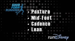 Tips for an awesome run.  Thanks, New Balance and runDisney!