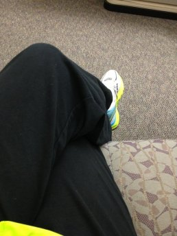 These pants are comfy, practical, and just plain awesome after a run (and for yoga)!
