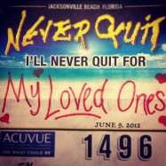 My first bib from NQ 2012