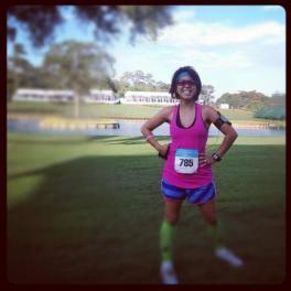 My first race at TPC Sawgrass.