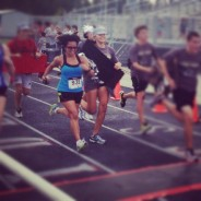 My second race, Creekside High