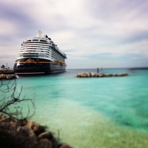 A view of the Disney Dream