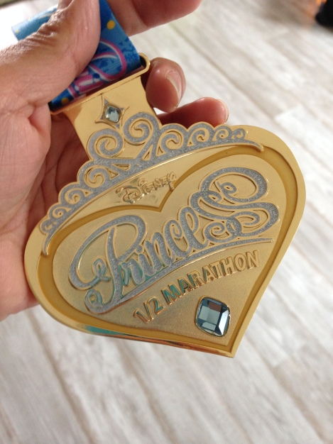 The 2014 medal is even MORE pretty in person (and around your neck)!