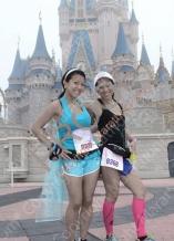 My sister and I at the 2014 Disney Princess Half Marathon
