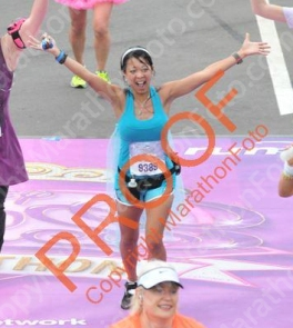 Crossing the Line at the 2014 Disney Princess Half Marathon