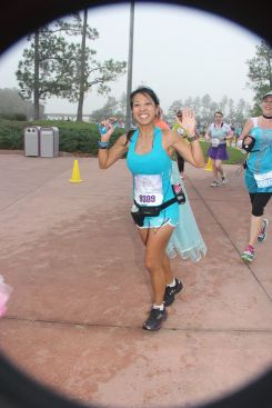 Running through the Magic Kingdom - 2014 Princess Half Marathon