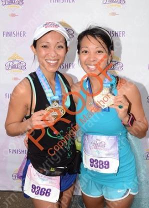 My sister and I - 2014 Princess Half Marathon