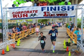 A PR at the 2014 Corporate Run