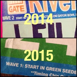 It was a different year at the Gate River Run!