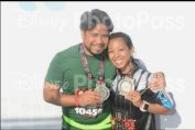 2016 Star Wars Half - The Darkside. My husband's first 13.1!