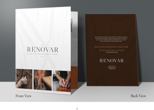 Renovar - Policyholder folder (front and back)